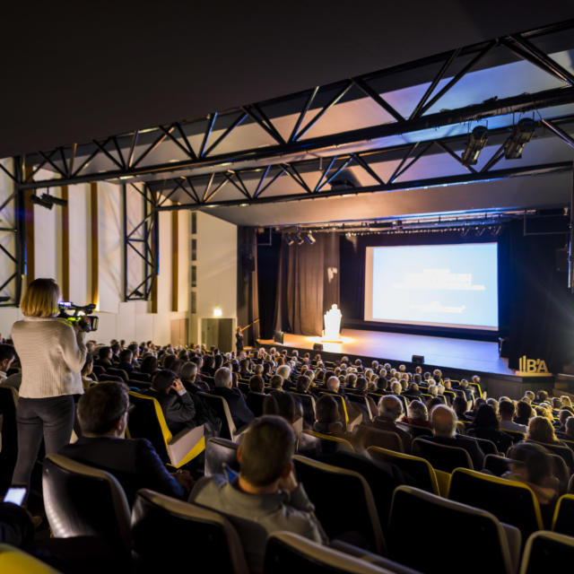 Auditorium spectateurs