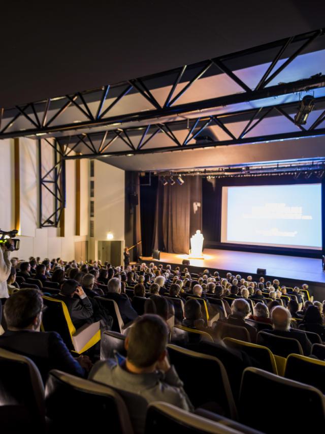 Auditorium spectateurs