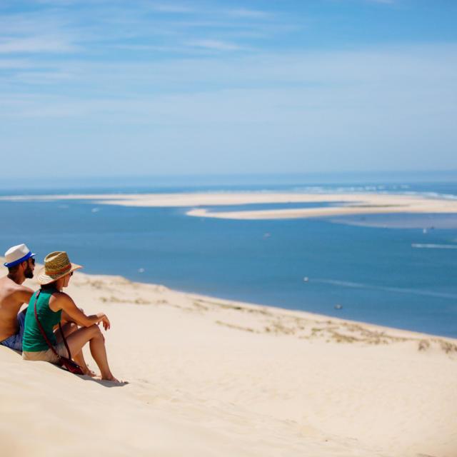 Banc Vu De La Dune