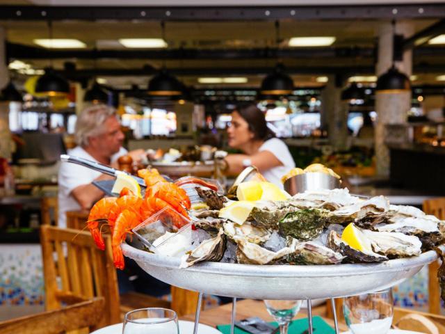 Plateau Fruits De Mer Oyster Bar @conteurs
