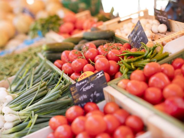 Tomates Marché